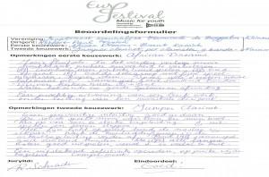 beoordelingsrapport jurylid Schraden